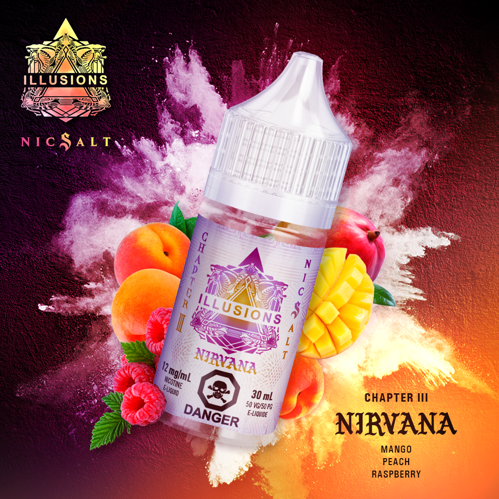 Nirvana Nic Salt Splash - Canada 30ml