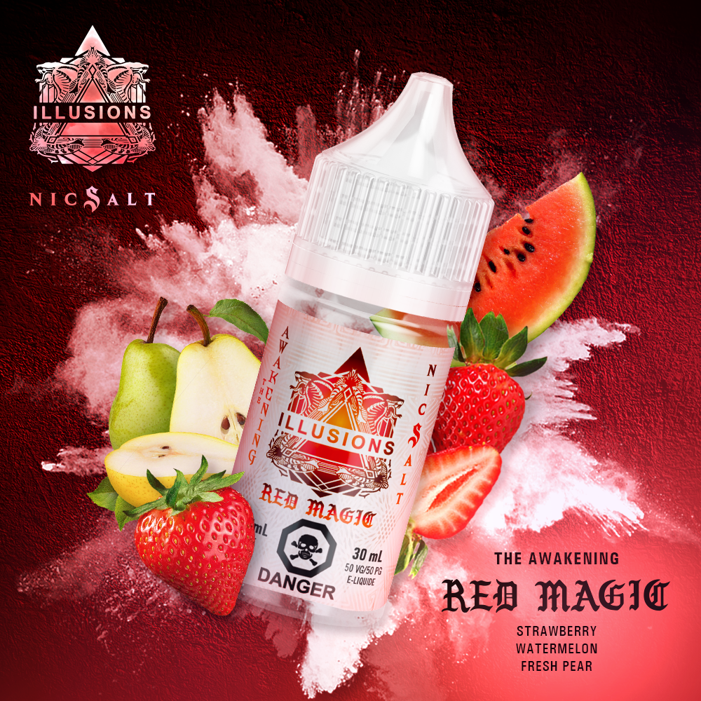 Red Magic Nic Salt Splash - Canada 30ml