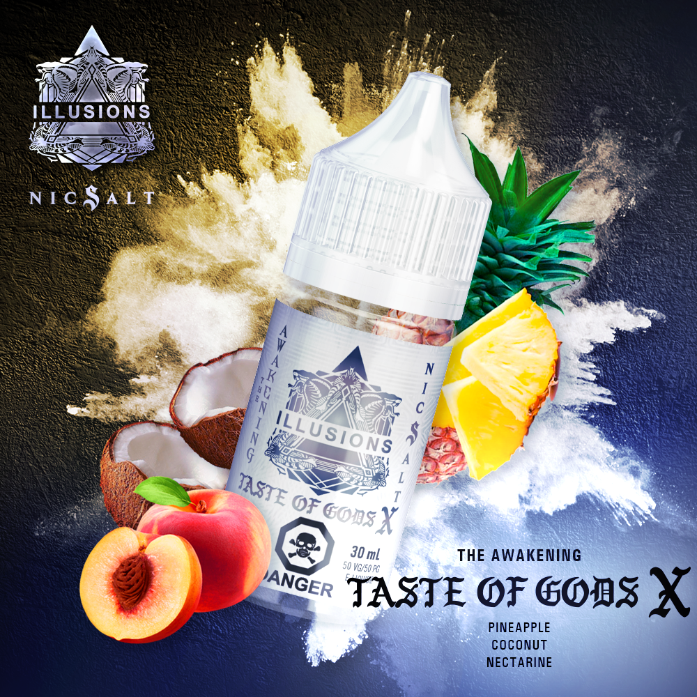 Taste of Gods X Nic Salt Splash - Canada 30ml