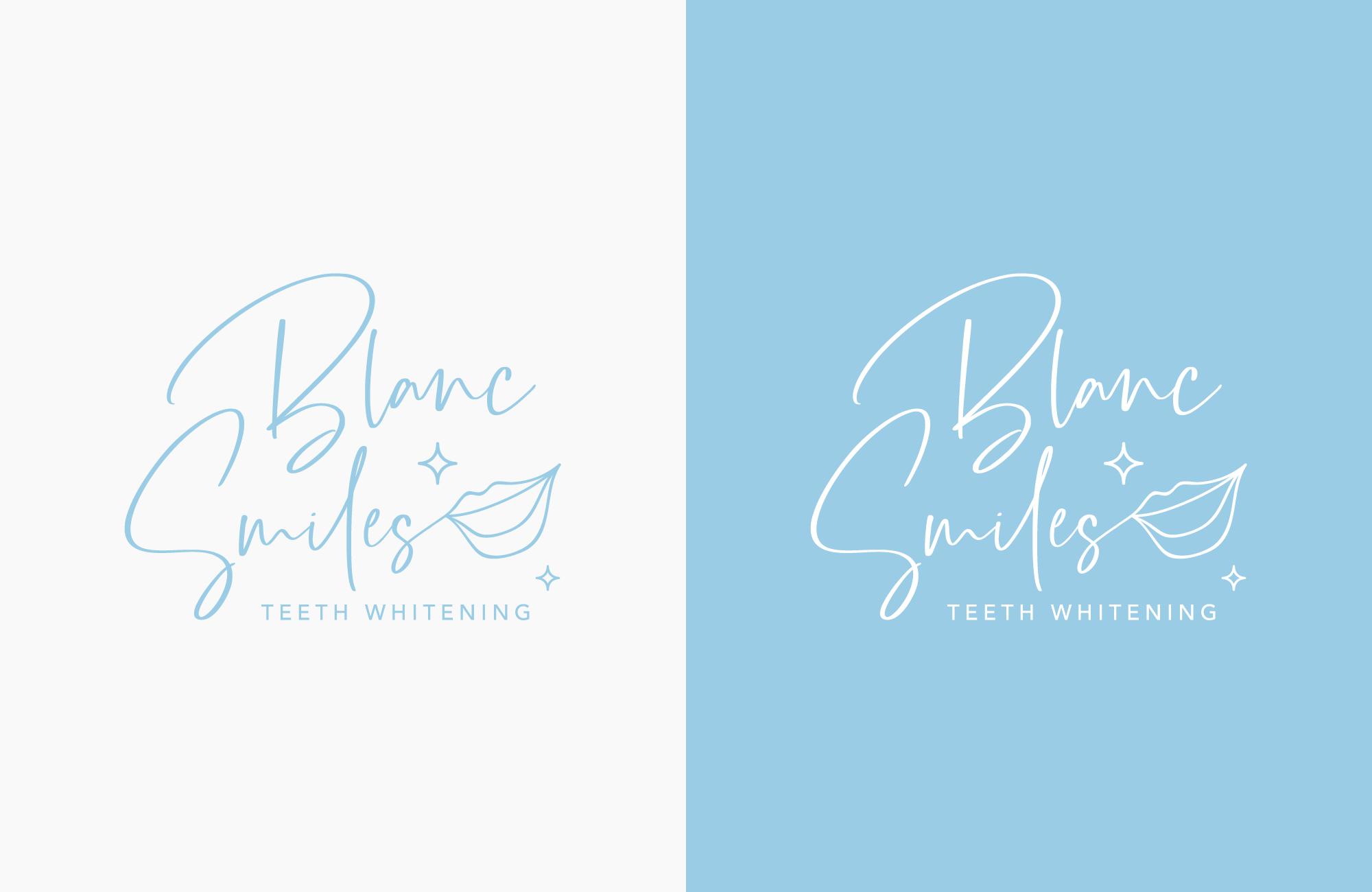 Blanc Smiles Logo