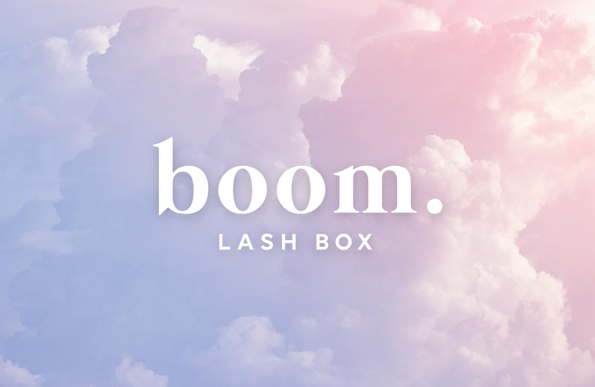 Boom Lash Box Logo
