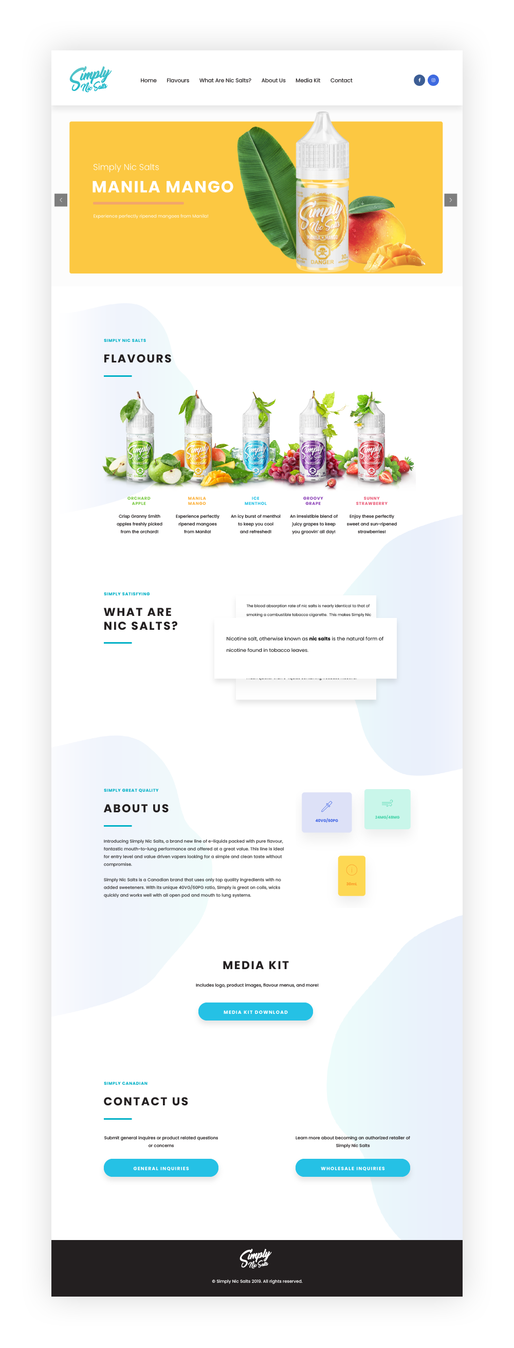 Simply Website Layout Design